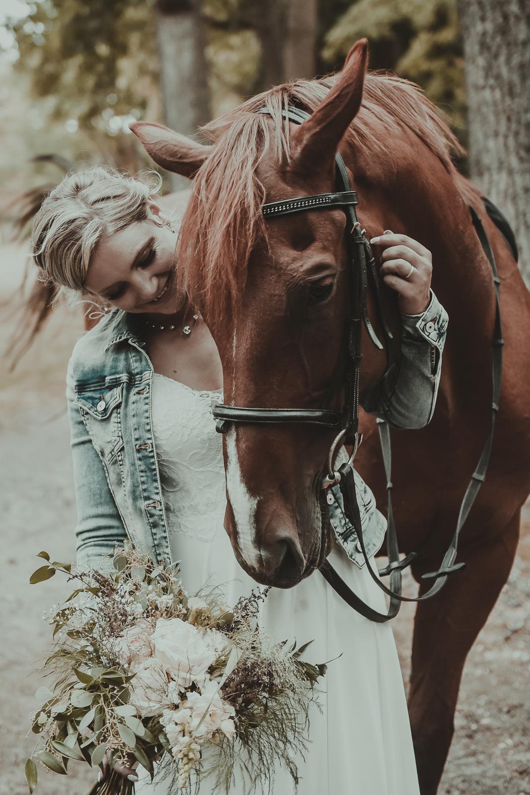 Nevěsta a kůn