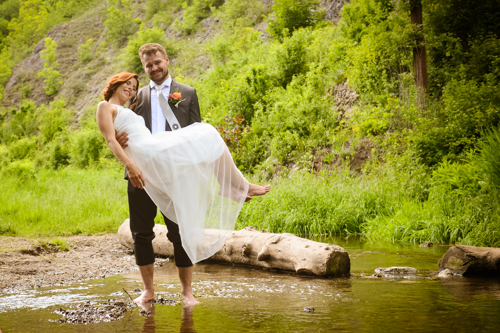 Svatba v Prokopském údolí