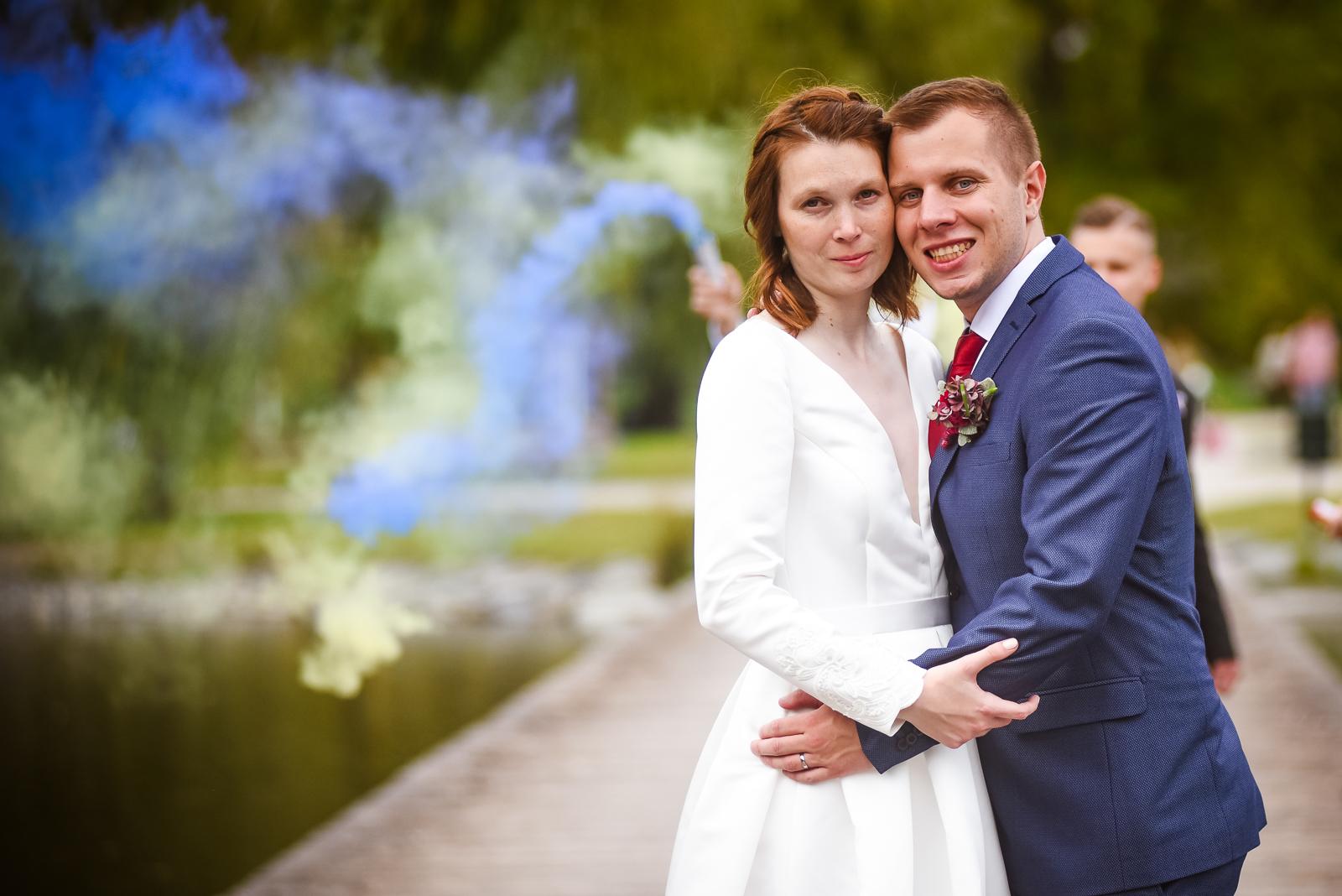 svatba, dýmovnice